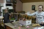 Kinderbasteln für den Weihnachtsmarkt