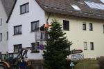 Aufstellen Weihnachtsbaum