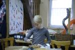 Kinderbasteln, Kränze binden, Christbaum aufstellen_14