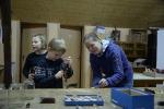 Kinderbasteln, Kränze binden, Christbaum aufstellen_17